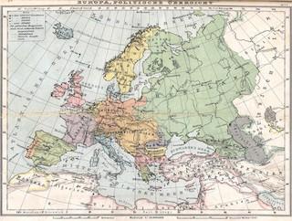 Mapa polític d'Europa
